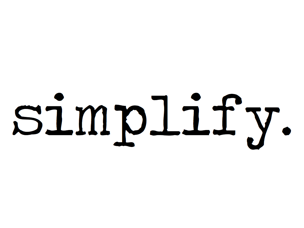 Simplified