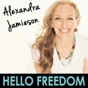 Alexandra Jamieson on Hello Freedom with Terri Cole