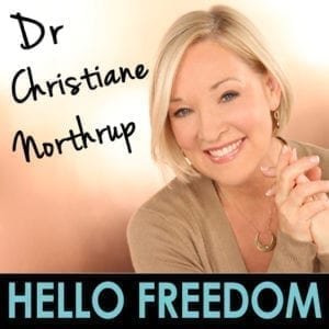 Dr. Christiane Northrup on Hello Freedom with Terri Cole