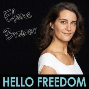 Elena Brower on Hello Freedom with Terri Cole