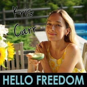 Kris Carr on Hello Freedom with Terri Cole