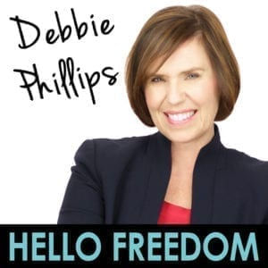 Debbie Phillips on Hello Freedom with Terri Cole