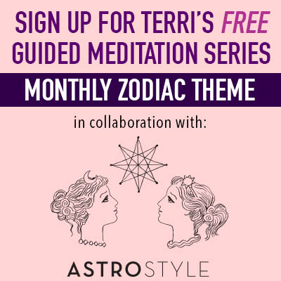 Sign up for free monthly guided zodiac meditation