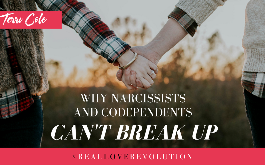 Why Narcissists and Codependents Can't Break Up