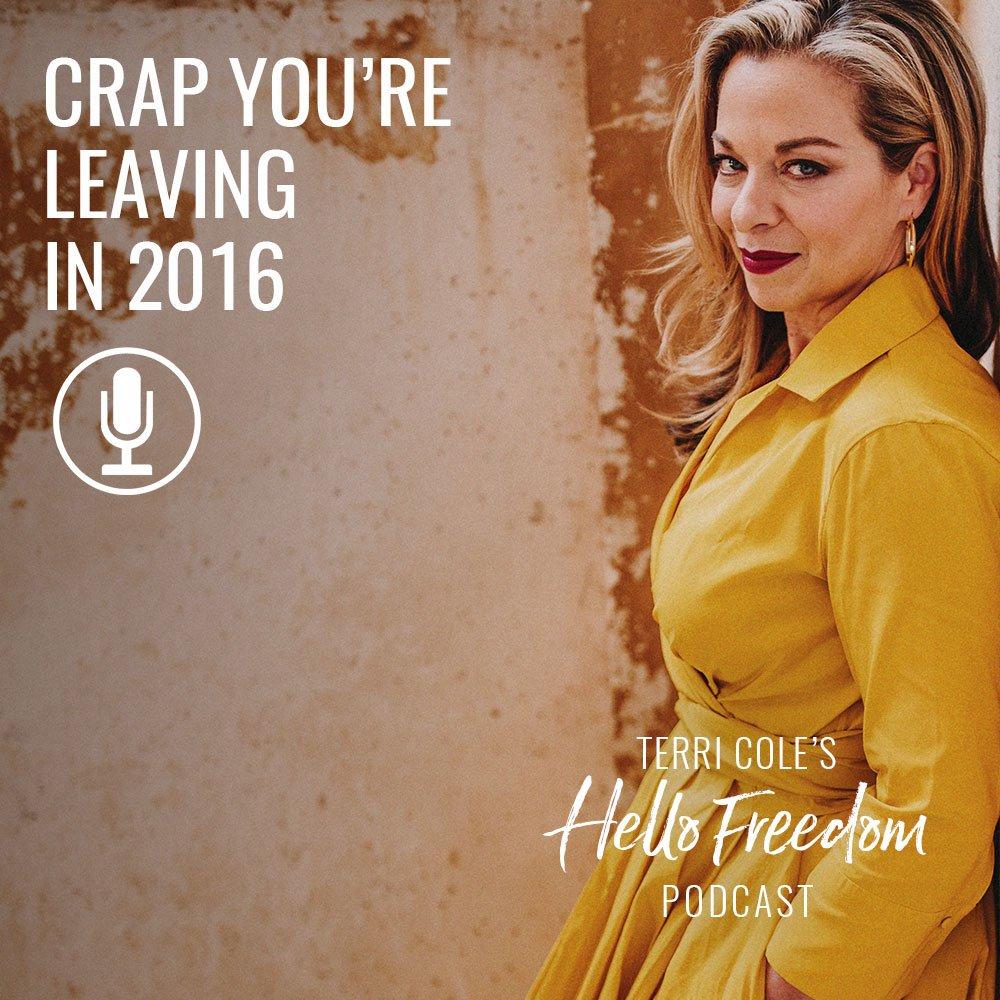 leaving crap behind
