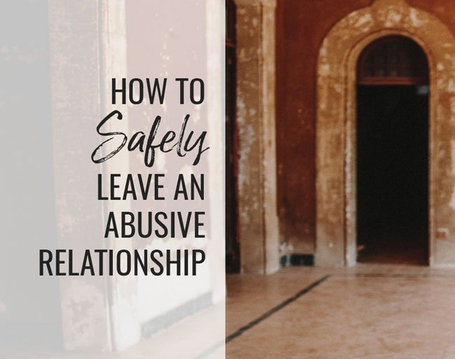 leave abusive relationship